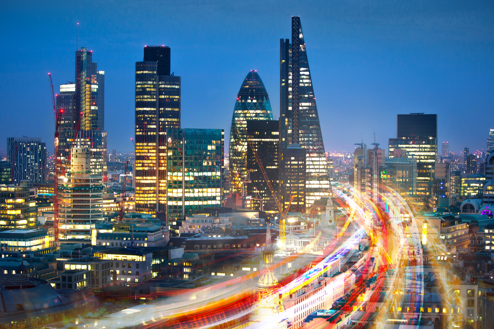 City of London cityscape